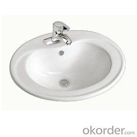 sanitary ware above counter basin for bathroom