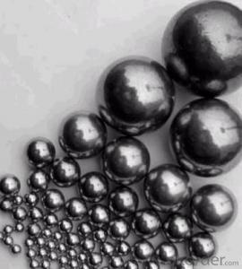 BEST QUALITY OF CARBON STEEL BALL WITH LOW PRICE