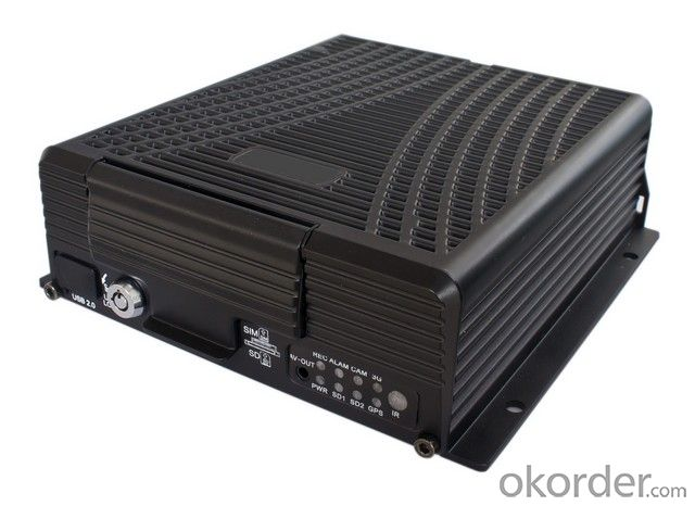 Hard Disk Mobile DVR with Built-in GPS Module