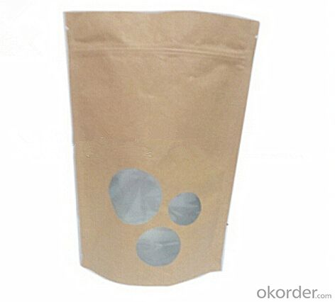foil lined stand up kraft paper bags good quality