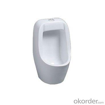 Hotel wc wall hung male ceramic men's corner urinal