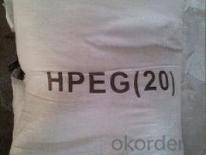 HPEG     Raw material for poly carboxylic acid water reducing agent