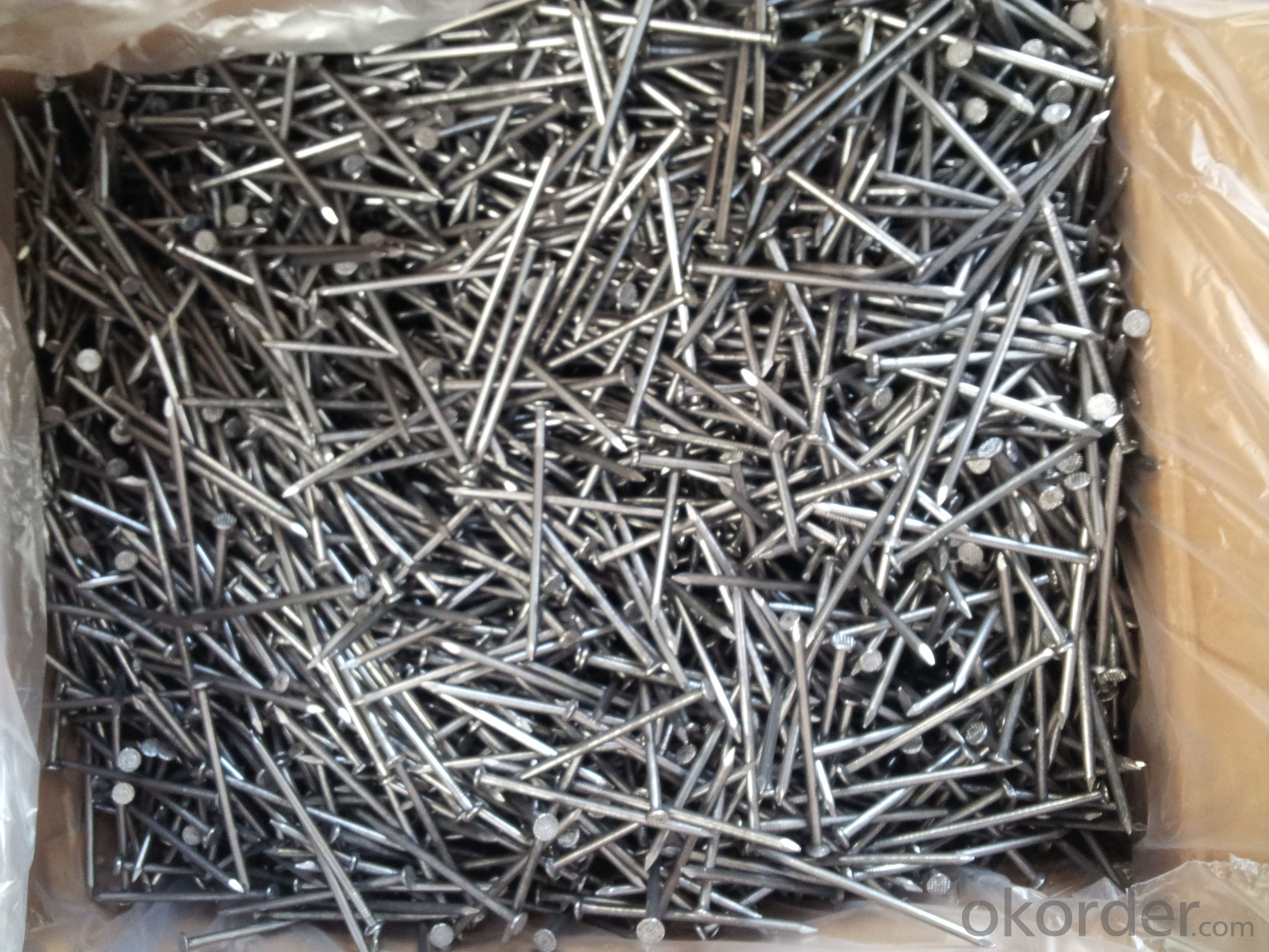 Good Quality Polished Common Round Nail 1''