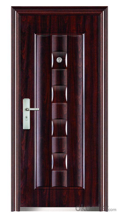 CE Exterier fireproof steel security door