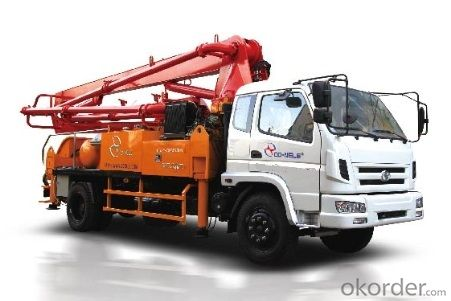 Truck-mounted Concrete Placing Boom truck type
