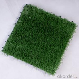 Artificial turf tiles for each connection