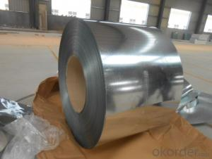 Prime Galvanized steel coil zinc coating 80g/m2