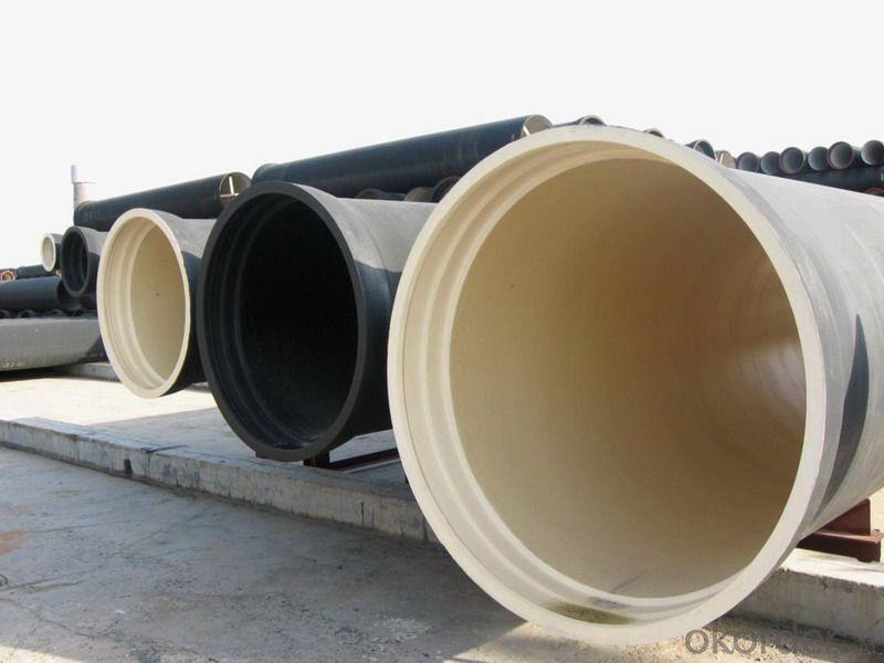 Ductile Iron Pipe ISO2531 / EN545 / EN598 K9 DN100
