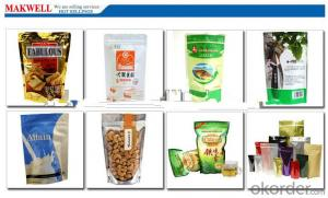 kraft paper pouches standup  good quality