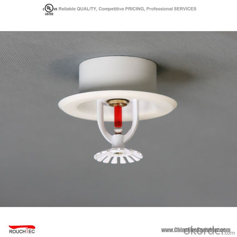 PENDENT and Plate UL Fire Sprinklers used in fire fighting