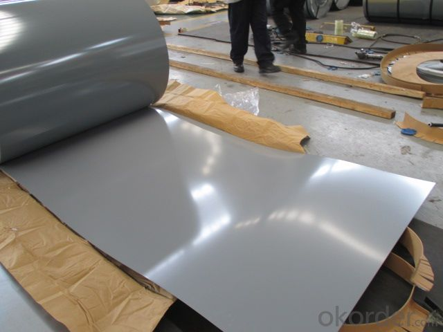 PREPAINTED STEEL COIL zinc coating 120g/m2