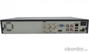 4CH 960H Real Time H.264 DVR H4804BQ with All Basic Functions