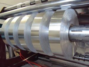 Plain Aluminim Foil Jumbo Roll for Cable and Wire Application