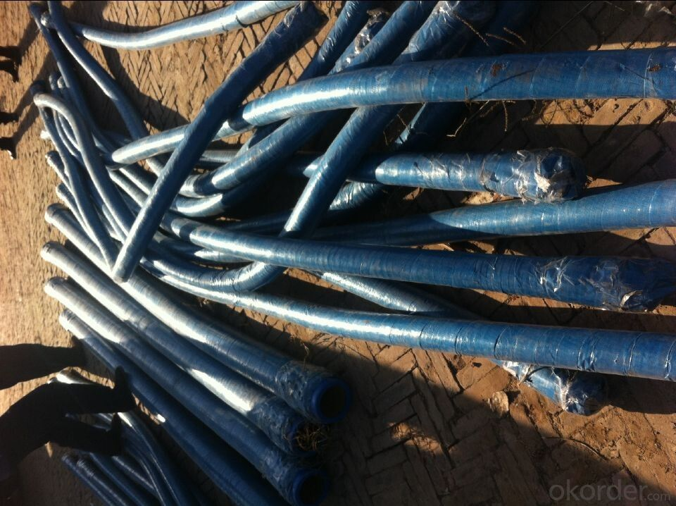 RUBBER END HOSES  with two sides flange 6 METERS DN 80 MM