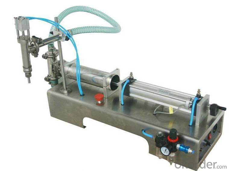 G1WY Pneumatic Liquid bottle Filling Machine