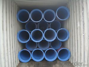 DUCTILE IRON PIPES AND PIPE FITTINGS K8 CLASS DN100