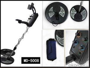 Zhongmei brand MD5008 GROUND SEARCHING METAL DETECTOR