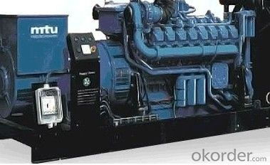 Generator Power MTU Diesel Generator Set W10