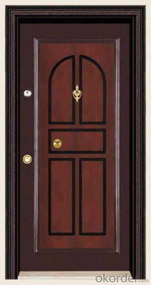 Hot Sale Turkey Style Steel Wooden Armored Doors