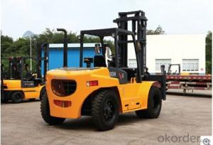 FORKLIFT CLG2100H,Standard suspension seat, and optional Grammar vibration reducing seat