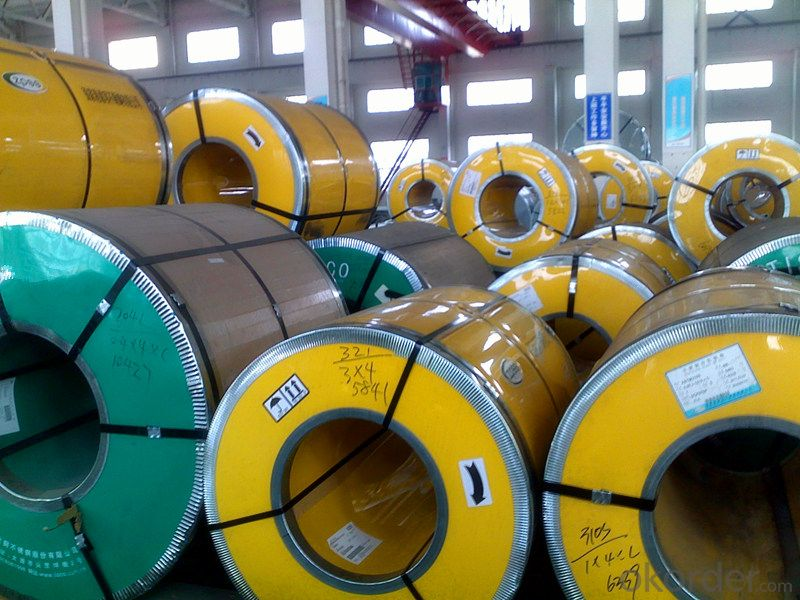 Stainless Steel Coil/ Strip 304 Cold Rolled 2B Finish