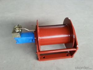 Zhongmei brand air winch with steel rope