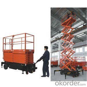 Half-Electric Scissor Type Lifting Platform(GTJB)