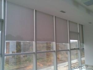 Industrial Roller Blinds with Blackout Fabric