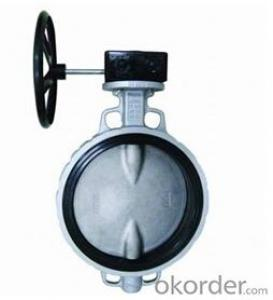 Butterfly Valve Turbine Type DN250 with Hand Wheel BS Standard