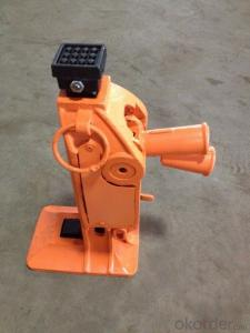 Zhongmei brand Mechanical rail track jack