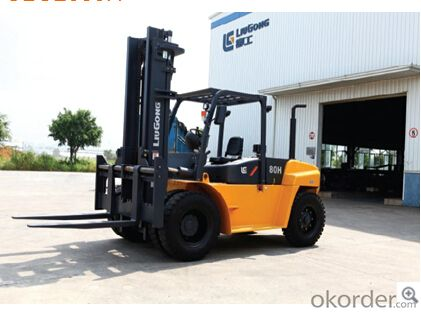 FORKLIFT CLG2080H,Balance weight design allows for excellent cooling capacity