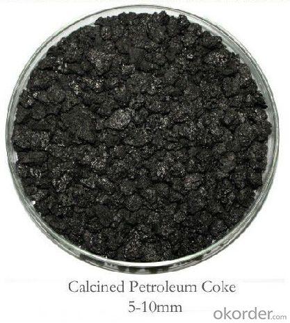 Calcined Petroleum Coke Carbon Additive 5-10mm