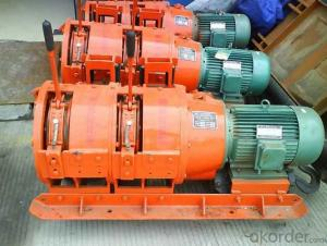 Zhongmei brand Mining Electric Scraper Winch with Cast Steel Scraper