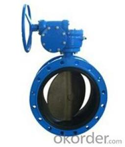 DN200 Turbine Type Butterfly Valve with Hand wheel BS Standard