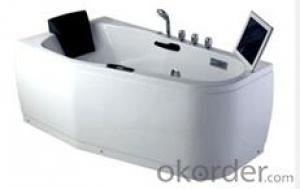 Deluxe hydro massage extra long bathroom bathtub