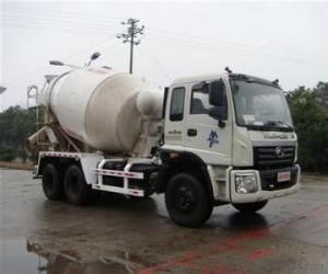 10 cubic meters of concrete mixer truck mixer
