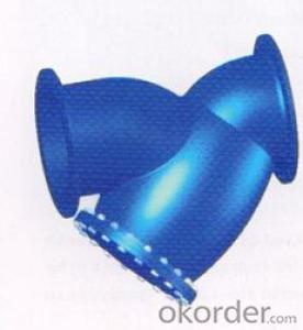 DN100 DUCTILE IRON STRAINER BS STANDARD