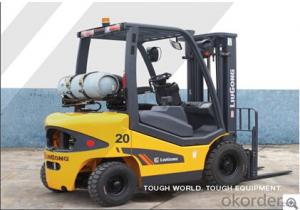 FORKLIFT CLG2020H(LPG),Spacious ergonomically designed operating environment