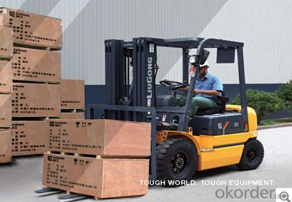 FORKLIFT CPCD20,Spacious ergonomically designed operating environment.