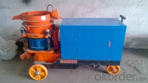 Zhongmei brand Cement Shotcrete Machine for mining