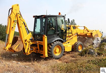 Backhoe Loaders CLG777A,Operator Safety and Comfort,Easy Maintenance