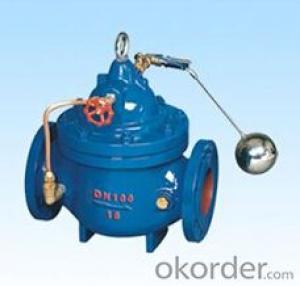 DN150 Ductile Iron Remote control float valve
