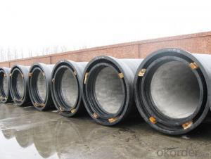Ductile Iron Pipe ISO2531 / EN545 / EN598  C Class