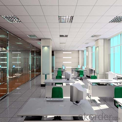 Mineral Fiber Acoustic Board Ceiling for New Decoration