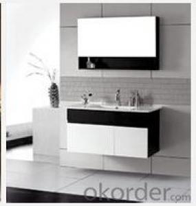 modern painting bathroom cabinet baking finish