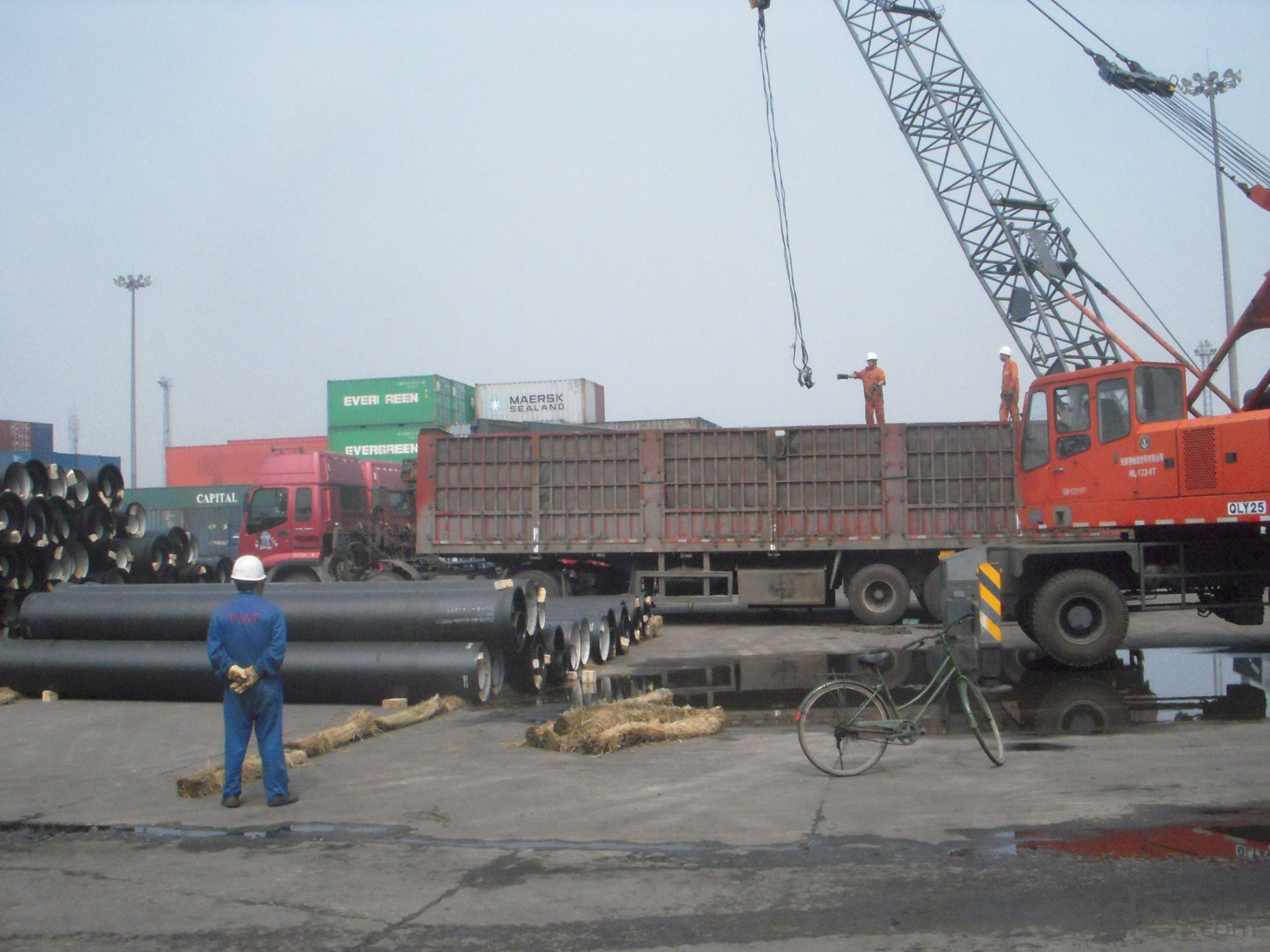DUCTILE  IRON PIPES  AND PIPE FITTINGSk8 CLASS DN1700