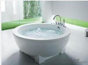 Besma acrylic bathroom tubs round shape B-7303