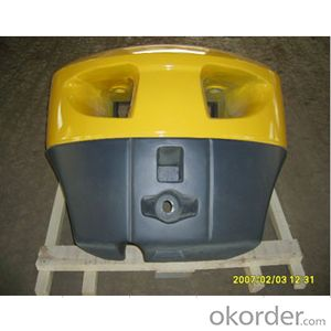 Forklift weight counterbalance 7