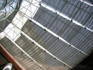 FCS Folding Skylight Blinds System for Indoor Sunshade
