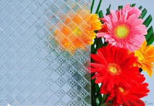 Temperable grade -clear pattern glass- Silezia